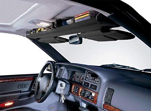 VDP 1980-1996 Compatible with Ford F150 F250 F350 F450 F550 Bronco 1992-1997 F250 F350 PU Heavy Duty Overhead Storage Shelf It Black SH2197