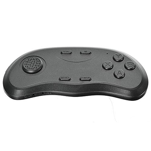Gamepad Joystick 2 Generation Bluetooth 3.0 VR Bril Afstandsbediening Gamepad Game Entertainment For Android IOS PC Handle Support (Color : Black, Size : One size)