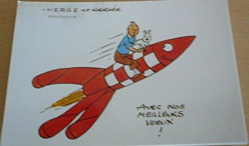 Tim und Struppi–besten V & # X153; UX (Rakete)–10x 15cm Postkarte