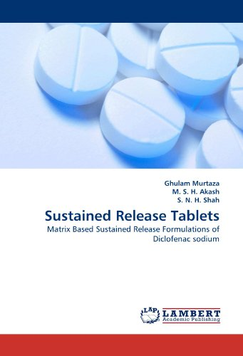 Sustained Release Tablets: Matrix Based Sustained Release Formulations of Diclofenac sodium