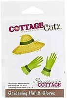"""CottageCutz Dies-Gardening Hat & Gloves 1"""" To 2.5"""""""