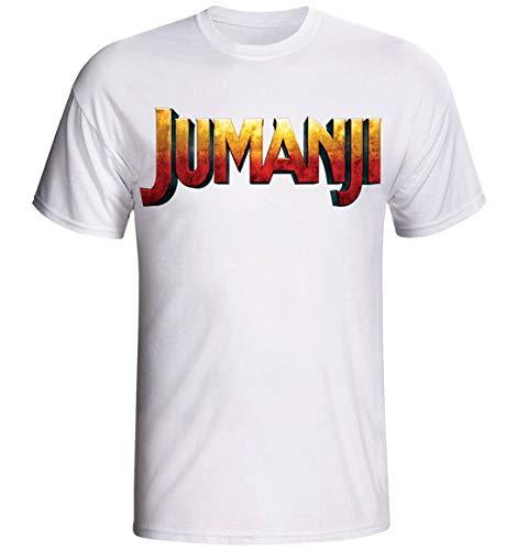Camiseta e Babylook Jumanji infantil t-shirt filme (Infantil - 12, Cinza)