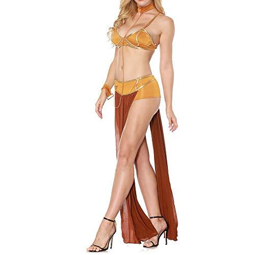 N\P Disfraz de reina de baile para mujer, vestido sexy con tirantes