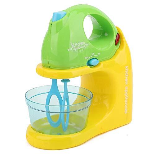 Jadpes Simulation Entsafter Mixer Spielzeug, Kinder Haushaltsgerät Entsafter Mixer Brotmaschine Küche Kochen Spielhaus Spielzeug Brotmixer Simulation Haushaltsgerät Spielzeug(Rührgerät)