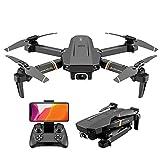 Drone XINKEJI XII dobrável com câmera 4K HD, velocidade de vôo de 3 níveis, transmissão ao vivo FPV, tempo de vôo longo, 3D Flip,WiFi 120 ° grande angular, modo sem cabeça para iniciantes