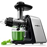 Best Wheatgrass Juicers - Juicer Machines, Oneisall Slow Masticating Juicer Extractor Easy Review