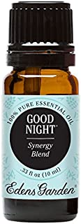 Good Night (100% Pure, Undiluted Therapeutic/ Best Grade) High Quality Premium Aromatherapy Oils by Edens Garden- 10 ml