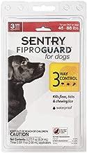 Sergeant's Fiproguard Plus 3 Month Supply 45-88 lb. Dog Flea Lice Ticks Protection