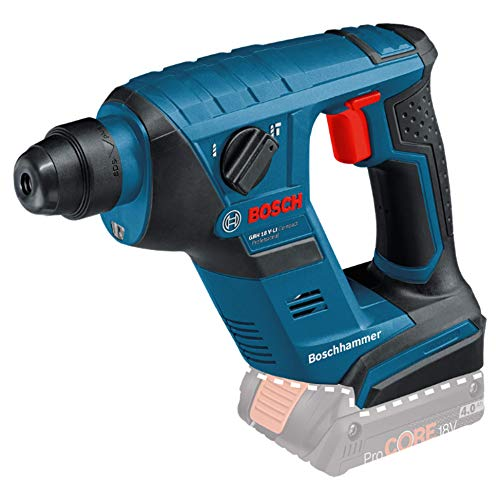 Bosch Professional GBH 18 V - LI Compact Cordless Rotary Hammer Drill with SDS Plus (without Battery and Charger) - Carton