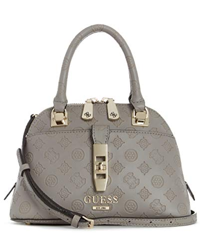 GUESS Peony Classic Small Dome Satchel Taupe One Size
