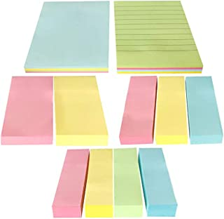 CHuangQi Pack of 5 Sticky Notes, Self-Stick Notes, Random Color