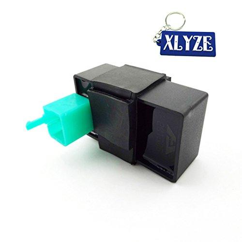 xlyze 5 Pin AC Ignition CDI Box pour 50 cc 110 cc 125 cc 140 cc 150 cc 160 cc Pit Dirt Bike ATV Quad 4 Wheeler