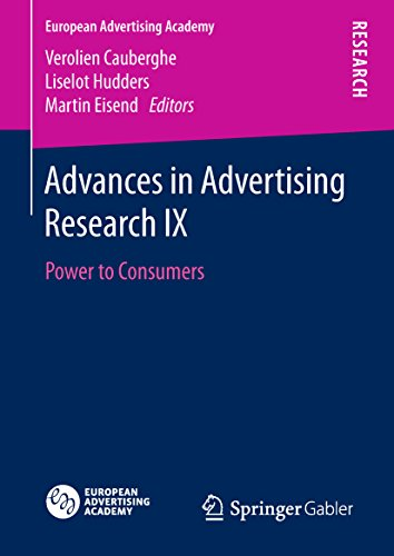 Advances in Advertising Research IX: Power to Consumers (European Advertising Academy) (English Edition)