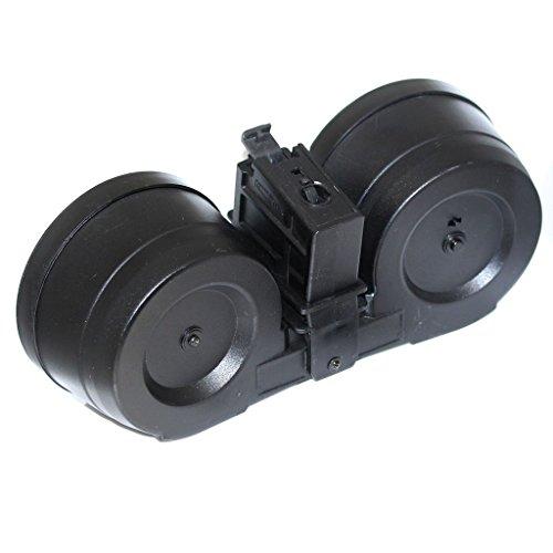 Airsoft Softair Ausrüstung BATTLEAXE 2500rd Drum Mag Magazin Elektrisch C-Mag Für G36 Serie AEG