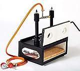 Faucheuse  gaz DFHS2 + 2D/3,6' | Forge  gaz avec deux brleurs DFP (80 000 BTU) et deux portes | Couteau forgeron forg | extrmement chaud | Brleur avec valve  bille de gaz.