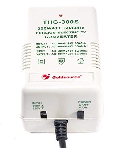 Transformador 220V a 110V hasta 300 vatios convertidor Voltaje para Usar Equipos Americanos en España y viceversa