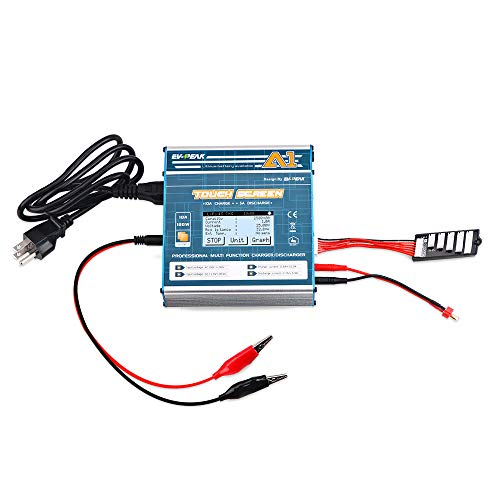 AC/DC 100W/10A Balance Charger Discharger Multi-Function Touch