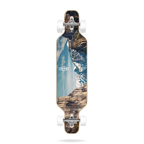 Long Island Breath Essential 40'x10' Drop Complete Skateboard Adulte Unisexe Multicolore 40'