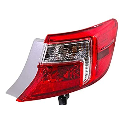 Epic Lighting OE Fitment Replacement Rear Brake Tail Light Assembly Compatible with 2012-2014 Camry [ TO2805114 8155006470 ] Right Passenger Side RH