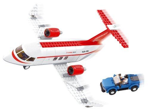 Sluban M38-B0365 - bouwdoos - luchtrit - privé vliegtuig