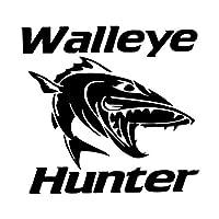 車用ステッカー・デカール 角膜ハンター漫画の魚のビニールウィンドウのステッカー車のステッカーは15.8CMX14.9CMを装飾します BJRHFN (Color : Black)
