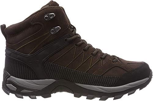 CMP Herren Rigel Mid Shoe Wp Trekking- & Wanderstiefel, Braun (Wood-Adriatico 61bn), 44 EU