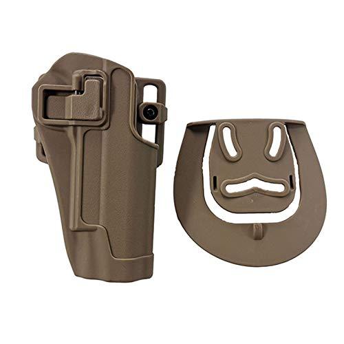GY Funda de cinturón Airsoft Funda de Pistola táctica para Glock 17 19 Beretta M9 Colt 1911 Sig Sauer P226 HK USP Funda de Pistola de Caza General (Color : C)