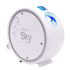 The Sky Lite instantly projects a field of drifting blue stars against a transforming blue nebula cloud (Patent Protected). Sky Lite incorporates a direct diode Laser, precision glass optics and holographic technologies to create an otherworldly visu...