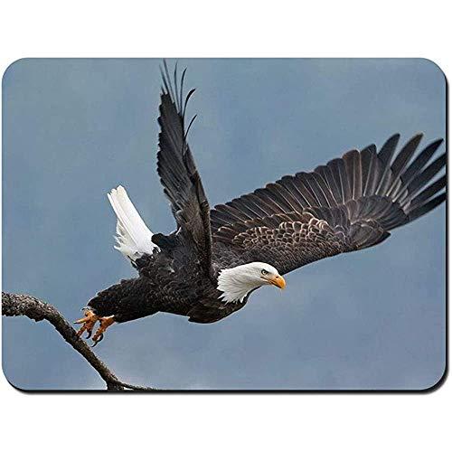 muismat kaal adelaar havik vogel vleugels nonslip rubber muismat gaming muis pad