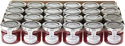 Wilkin & Sons of Tiptree Strawberry Preserve 28g Mini Jar - 24 Pack