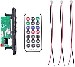 USDWR Hands-Free MP3 Player Decoder Board 12V Bluetooth 5.0 6W Amplifier Car FM Radio Module Support FM TF USB AUX Recorde...