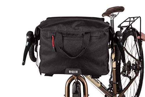 Learn More About Two Wheel Gear 4 in 1 Dayliner Roll Top Handlebar Trunk Bike Box Bag - Water Resist...