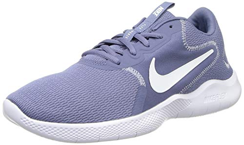 Nike Flex Experience RN 9, Running Shoe Womens, World Indigo/Summit White-Ghost, 35.5 EU