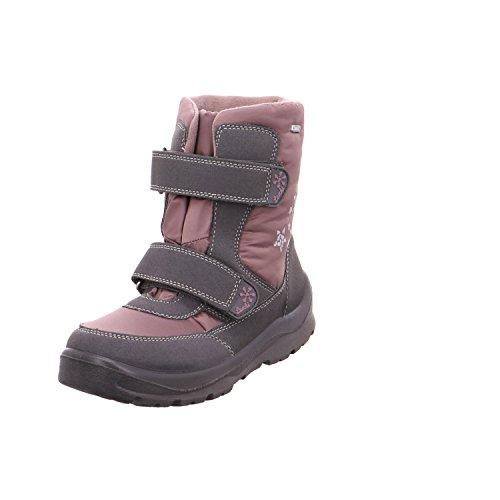Salamander 331011-45 354233 Bottes pour enfant avec fermeture Velcro Rose - Gris - gris, 29 EU
