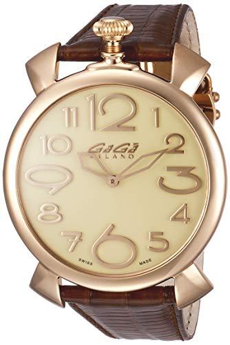 [ガガミラノ]GAGA MILANO 腕時計 MANUALETHIN46mm ホワイト文字盤 5091.05 メンズ 【並行輸入品】