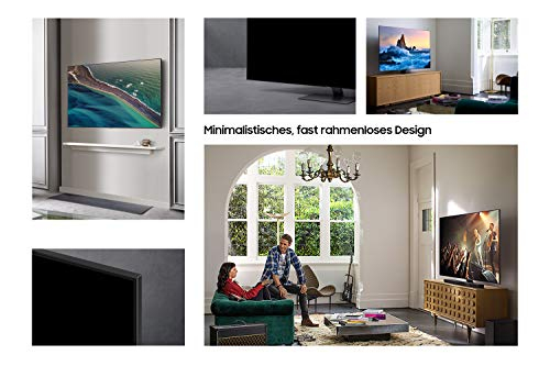 Samsung QLED 4K Q80T 189 cm (75 Zoll) (Quantum Prozessor 4K, Direct Full Array, Quantum HDR 1500) [Modelljahr 2020]