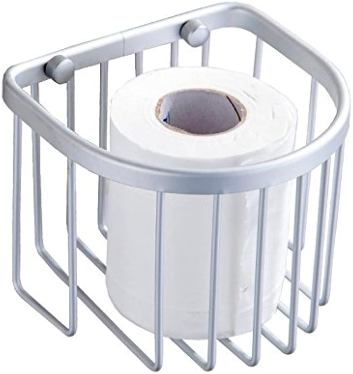 Hardwareh Space Aluminum Roll Holder Short Roll Basket Basket Bathroom Toilet Paper Holder Box Bathroom Hardware Accessoriesmodern Simple and Durable Home Decoration Classic Quality Assurance