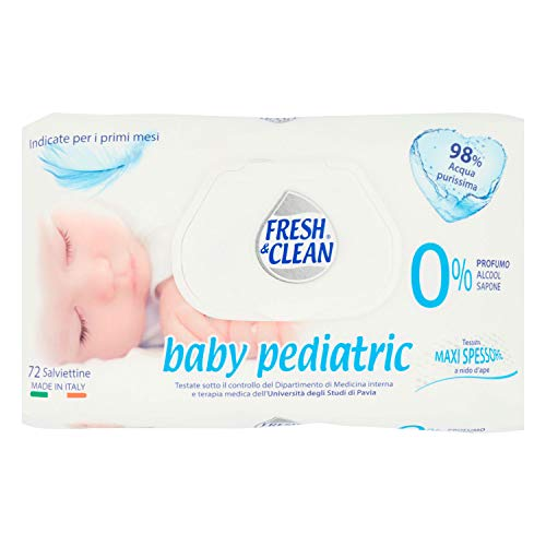 Fresh & Clean baby pediatric Salviettine 72 pz