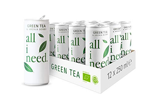 all i need. Green Tea, 12er Pack (12 x 250 ml), 50166245000000