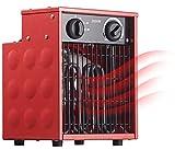 AGT Bauheizlüfter: Profi-Industrie-Elektro-Heizlüfter mit 2.000 Watt und 2 Heizstufen