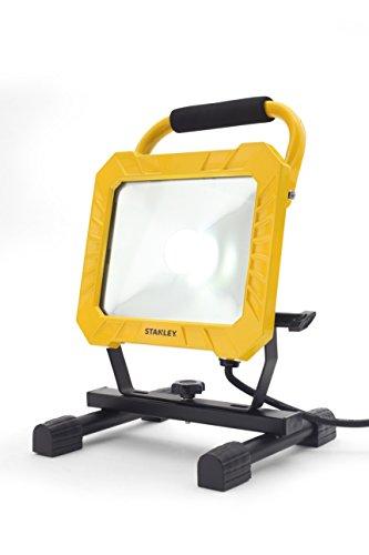 STANLEY 31331 - Projecteur de Chantier - LED 33W 4000 lumens - Jaune/Noir