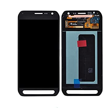 LCD Display Digitizer Touch Screen Assembly for Samsung Galaxy S6 Active G890  Black
