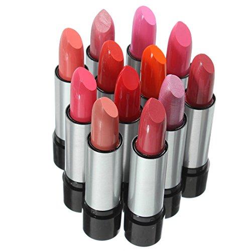 Cikuso Trucco di bellezza delle donne di modo 12 colori rossetti set lucidi