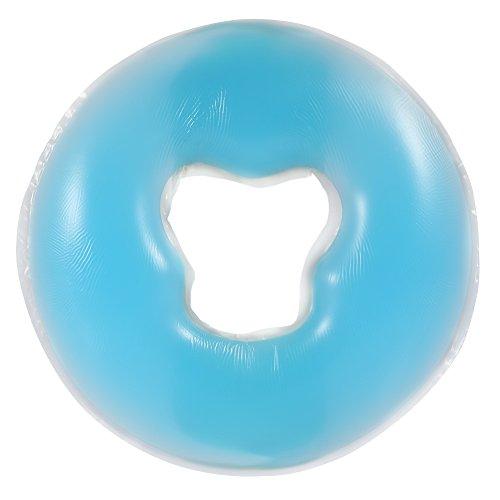 Kopfkissen, speziell für Massagebett, aus Silica-Gel, für Schönheitsinstitut, Cosmetologie blau