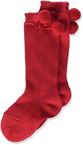 Condor 2504/2 Calcetines, Rojo (Rojo 550), 15 (Tamaño del Fabricante:00) para Bebés