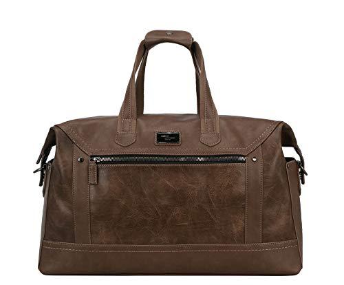 David Jones Zolan, Bolsas de viaje para Hombre, marrón oscuro, Talla única