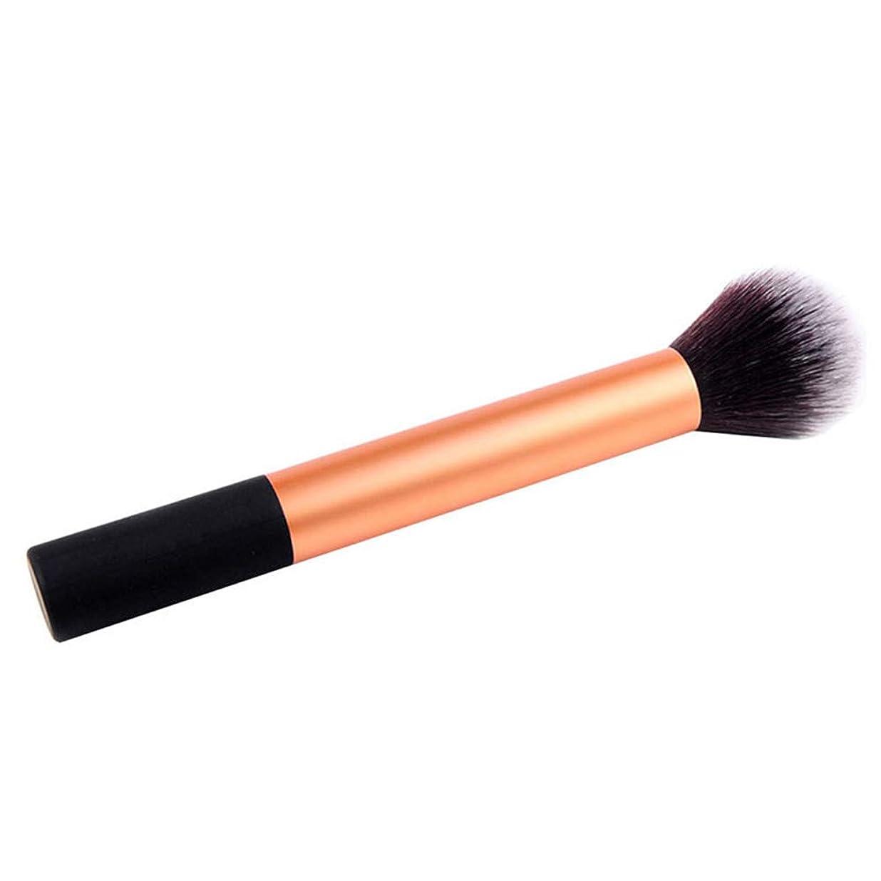 拡散する取り除く手首XULHKA 1ピース赤面化粧高光沢ブラシルースブラシ快適で柔らかい化粧道具