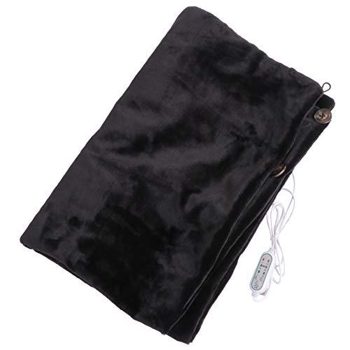 Veemoon USB Caliente Chal Caliente Calefacción Eléctrica Inteligente Manta Negra Abrigo de...