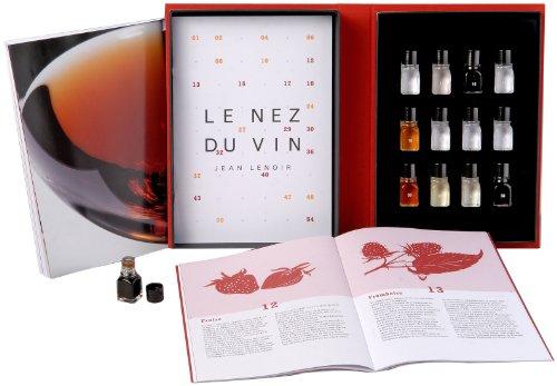 Le Nez du Vin : Les Vins Rouges 12 arômes (en anglais) (coffret toile)