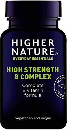 Higher Nature High Strength Vitamin B Complex (90 Capsules)